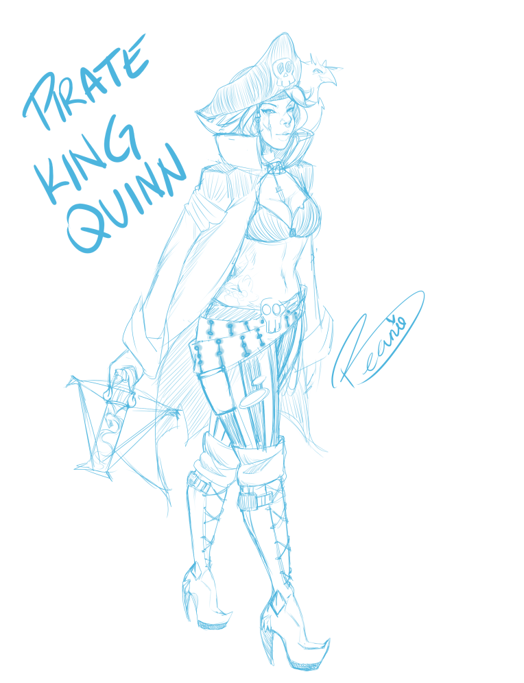 PirateKingQuinnSketch
